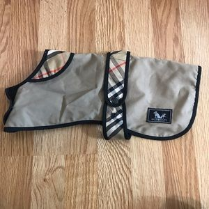 Authentic Burberry Dog Trench Coat Extremely RARE!